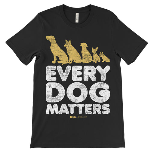 Every Dog Matters Shirt Unisex Black