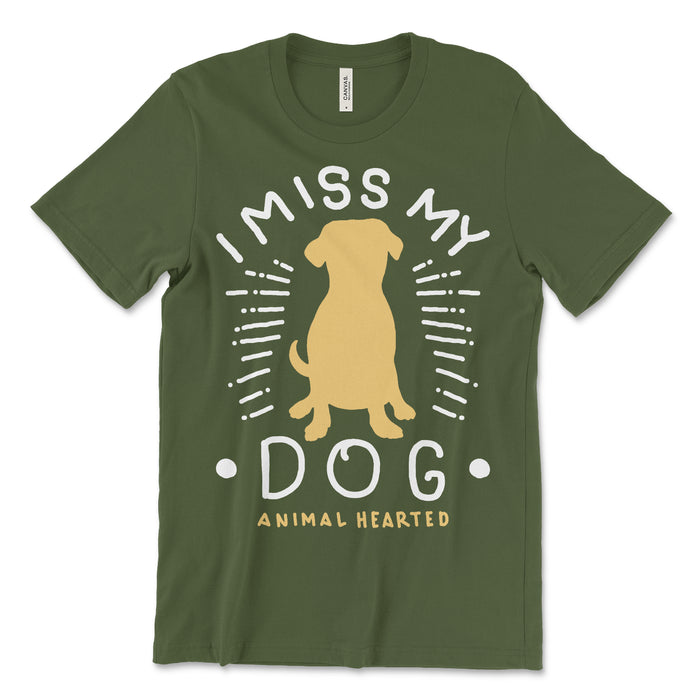 I Miss My Dog Tee Shirt