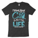 I Work Hard To Give My Cat A Better Life Shirt