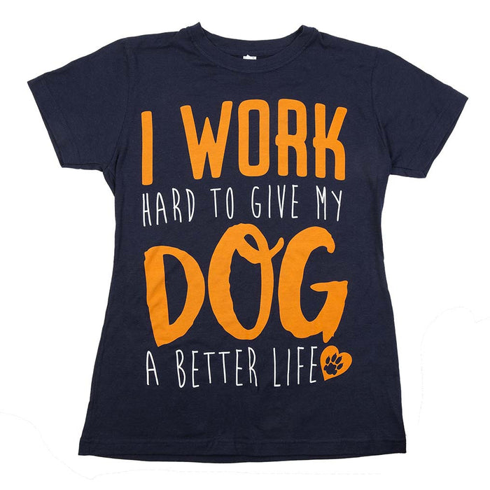 'I Work Hard To Give My Dog A Better Life'