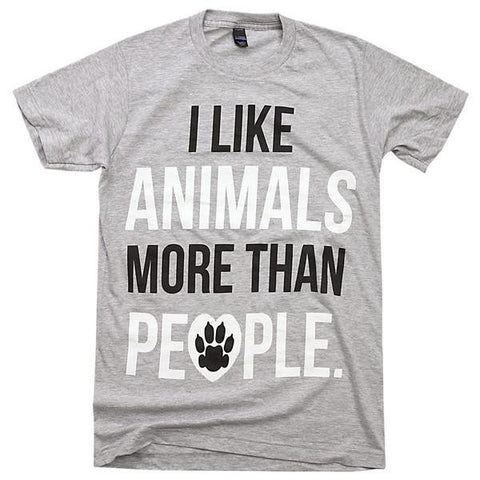 'I Like Animals More Than People' SALE