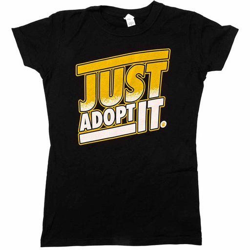 Just Adopt It Womens Shirt