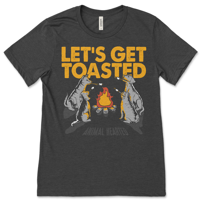 Let's Get Toasted Dog Shirt