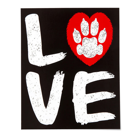 Love Sticker - Gifts For Animal Lovers