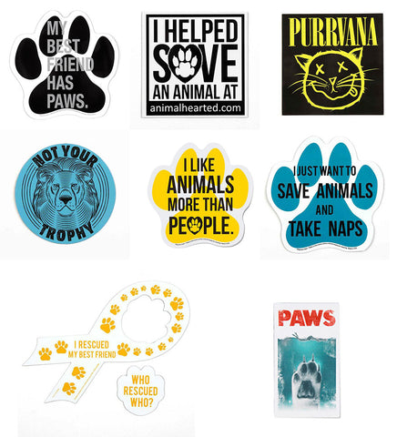 'Animal Hearted Magnets'