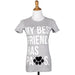 My Best Friend Has Paws Womens Tee