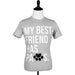 Best Friend Unisex Tee Grey