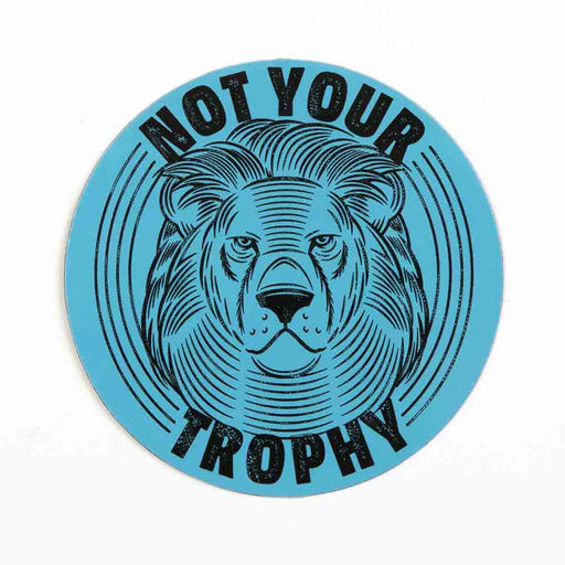 Not Your Trophy Magnet