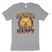 Pomeranians Make Me Happy T Shirt
