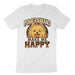 Pomeranians Make Me Happy Tee Shirt
