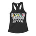 rescued is my favorite breed womens tank top