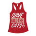 Save All The Cats Womens Rescue Tank