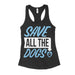 Womens Save All The Dogs Rescue Tank Top