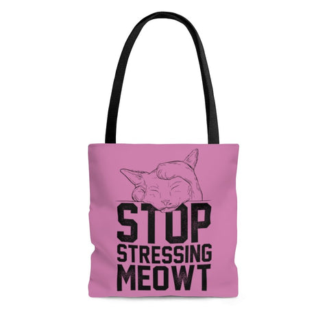 stop stressing meowt cat bag - gifts for cat lovers