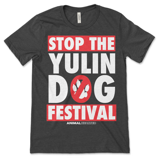 Stop The Yulin Dog Festival Shirt