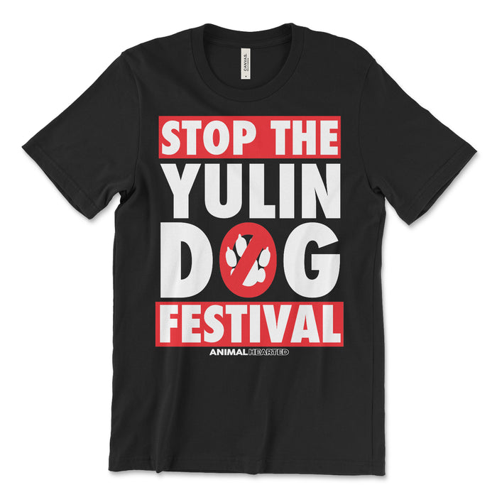 Stop The Yulin Dog Festival T Shirt