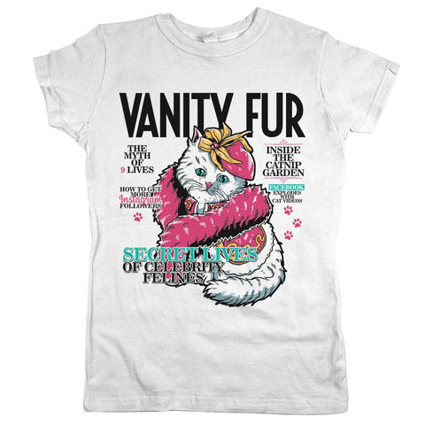 Vanity Fur Shirt White Womens