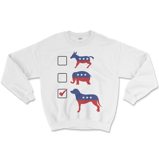 Vote Dogs Sweater