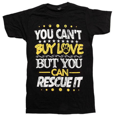 'You Can't Buy Love But You Can Rescue It'