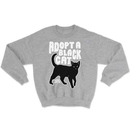 Adopt A Black Cat Sweatshirts