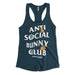 Anti Social Bunny Club Women's Tank Top