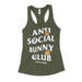 Anti Social Bunny Club Women's Tank