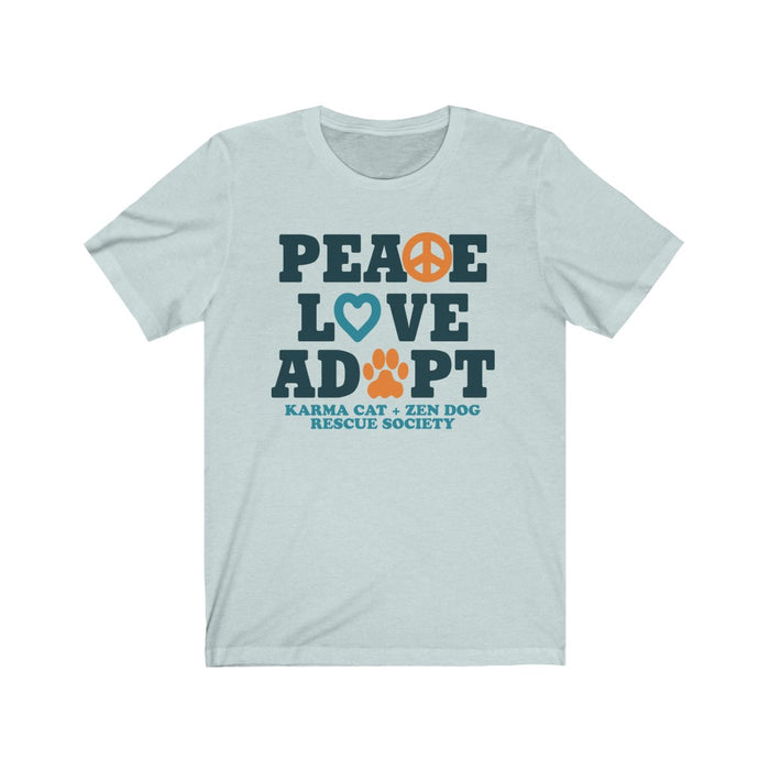 Support Karma Cat Zen Dog Peace Love Adopt Shirt