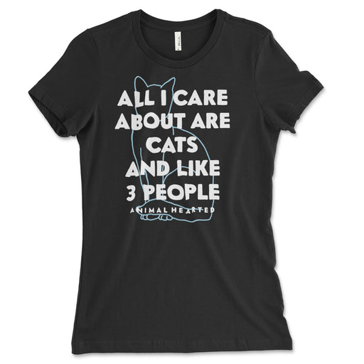 Cats And Like 3 People Women's T Shirt