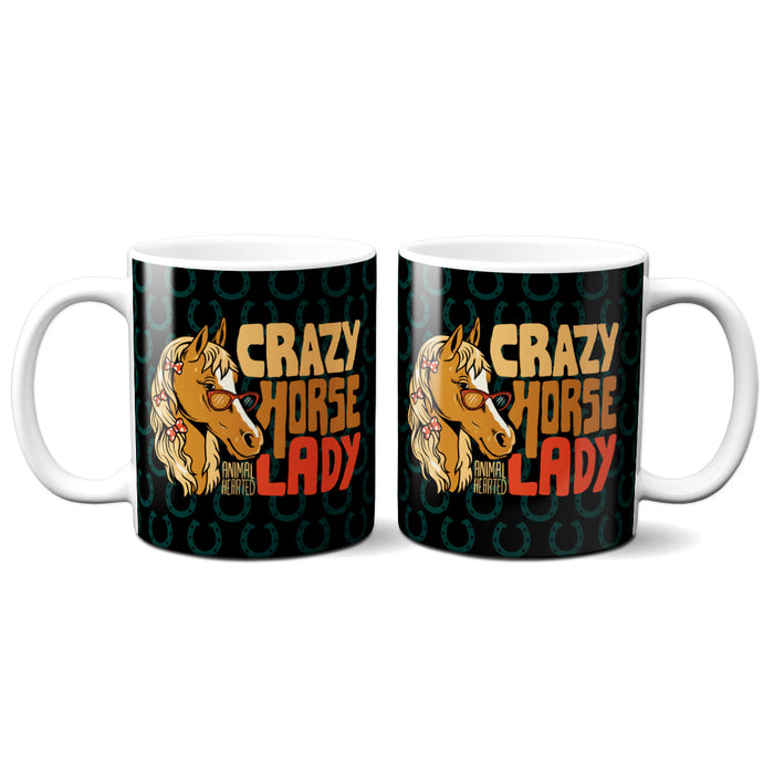 Crazy Horse Lady Mugs