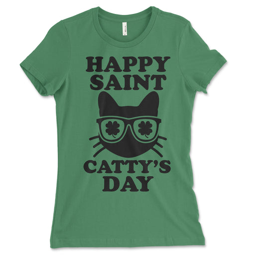 Happy St. Catty's Day Women's Shirt