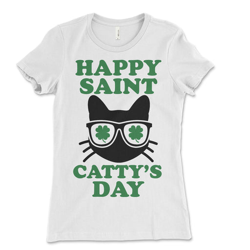 Happy St. Catty's Day Women's Tee Shirt