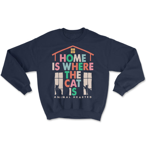 Home Is Where The Cat Is Sweatshirt