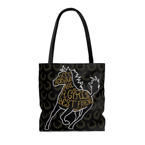 Horses Are A Girl's Best Friend Bag