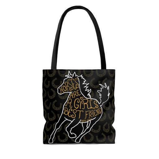Horses Are A Girl's Best Friend Bags