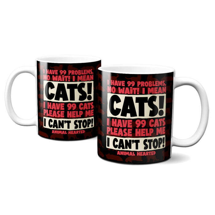 I Have 99 Cats Mugs