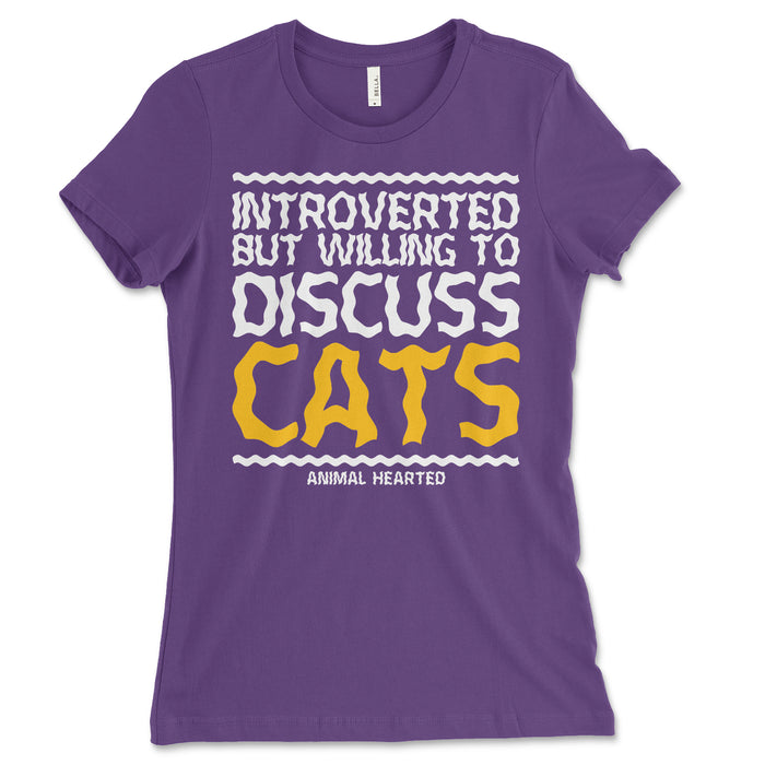 Introverted Cats Women's Shirt