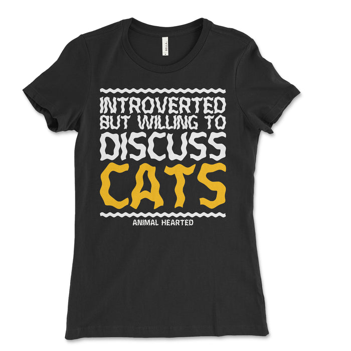 Introverted Cats Women's T Shirt