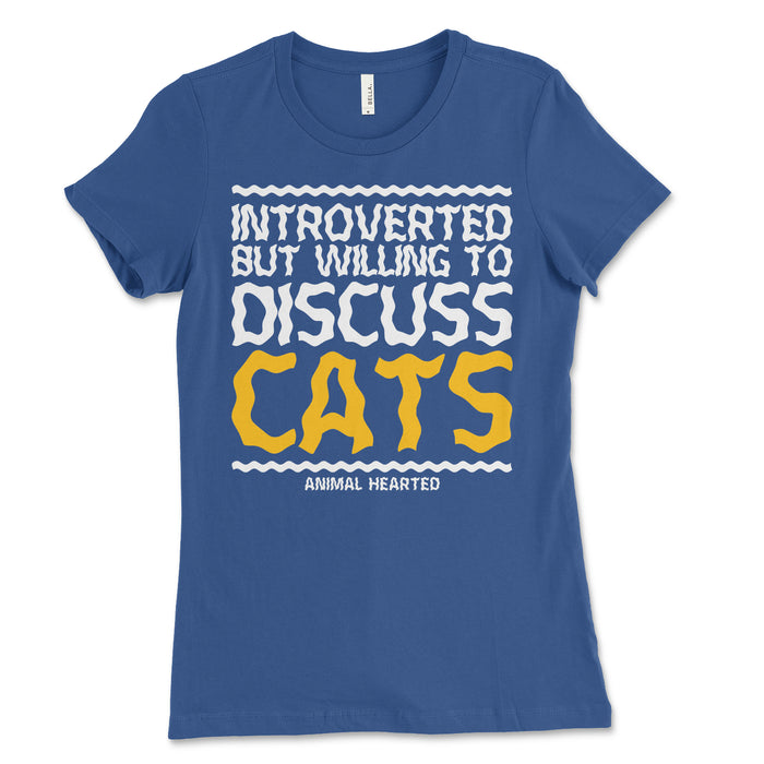 Introverted Cats Women's Tee Shirt