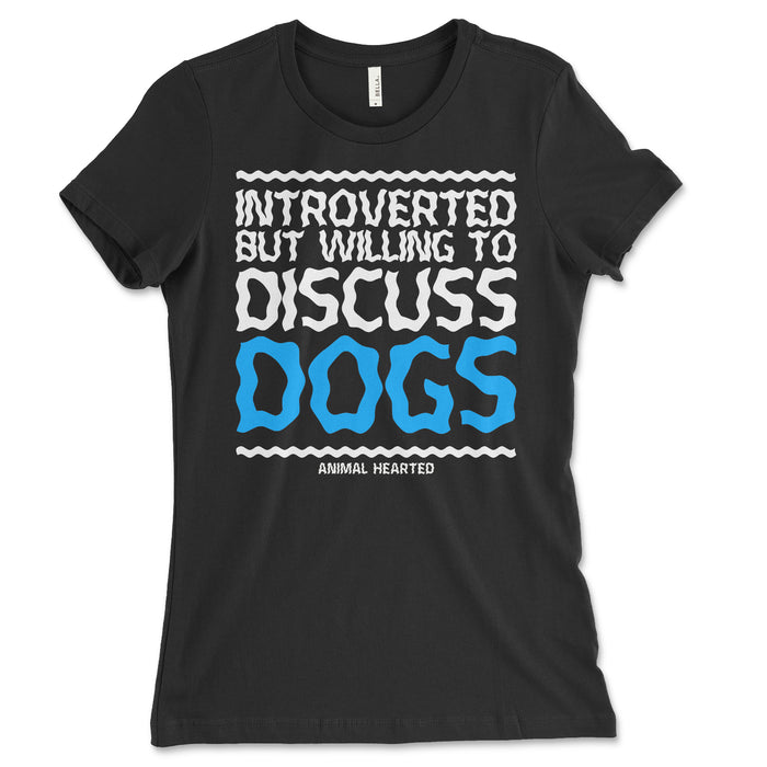 Introverted Dogs Women's T Shirt