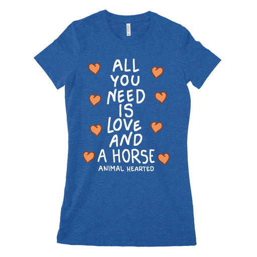 Love And A Horse Women's Shirt