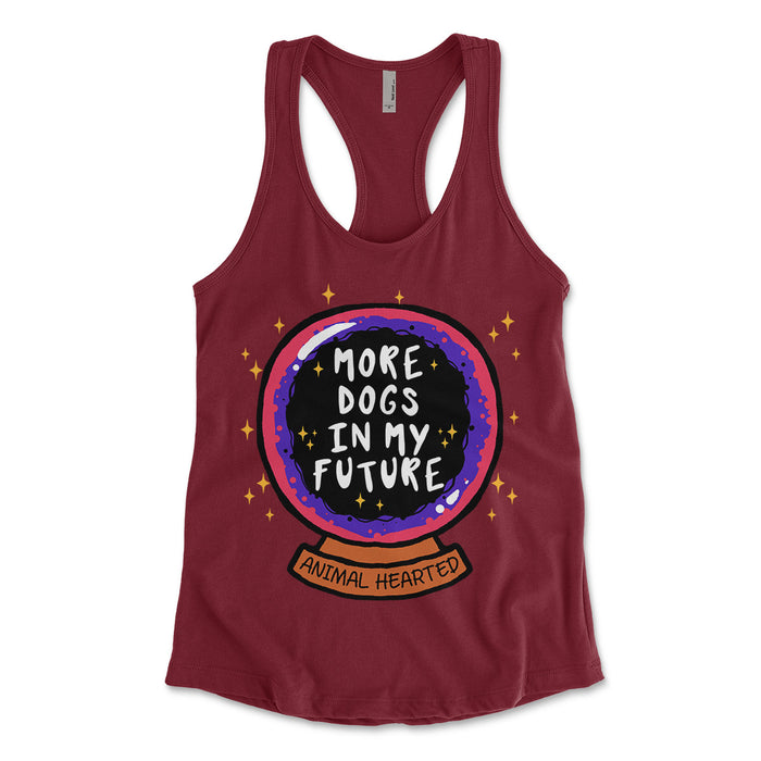More Dogs In My Future Women's Tank Tops