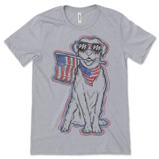Patriotic Dog T Shirt