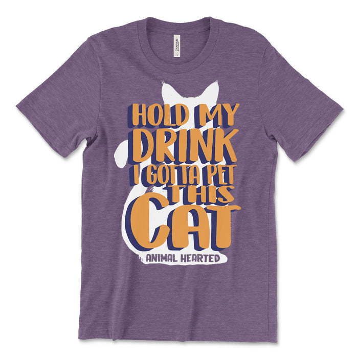 Pet This Cat Tee Shirt