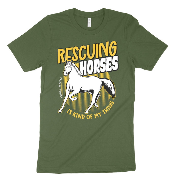 Rescuing Horses Is My Thing Tee Shirt
