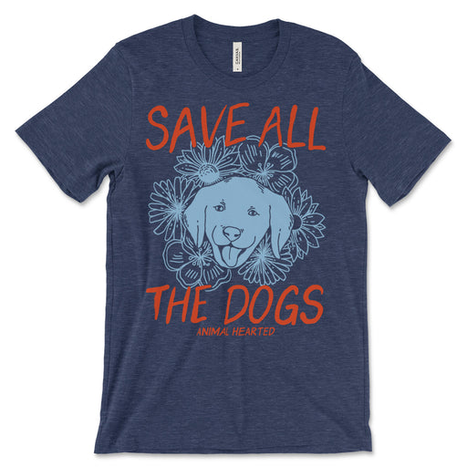 Save All The Dogs T Shirt