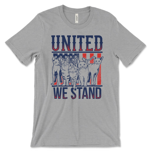 United We Stand Cats T Shirt