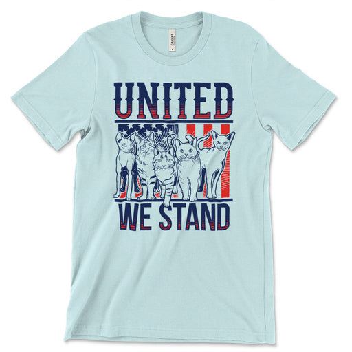 United We Stand Cats Tee Shirt