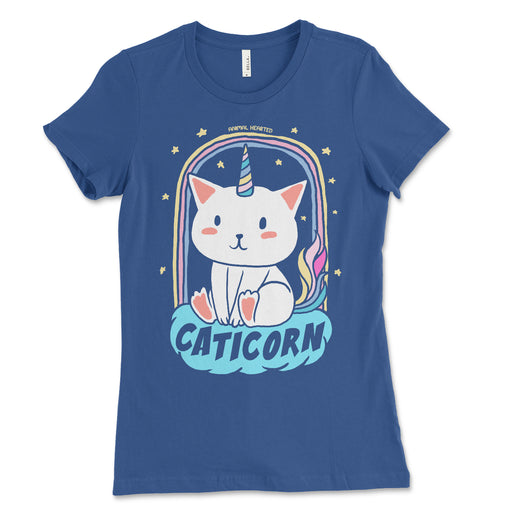 Womens Caticorn Cat Unicorn Shirt