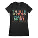 Womens This Is My Dog Hair Shirt
