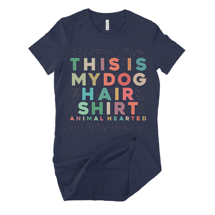 Womens This Is My Dog Hair T Shirts